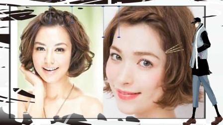2018春季流行的短发编发图片 清爽甜美的发型介绍