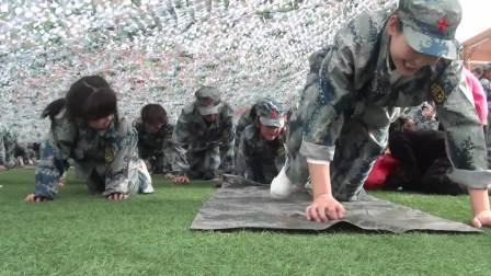 阜阳市阳光幼儿园国防教育(有可爱萌娃的亲子游戏,青春靓丽的美女教师哦)
