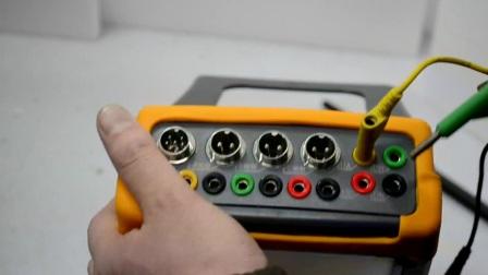2、三相三线电能表校验参数设置及接线方法