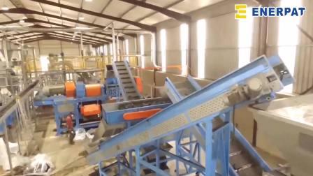 Enerpat 轮胎回收生产线
