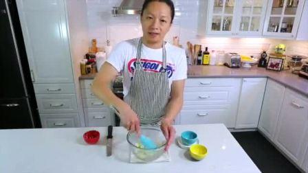 家庭烤蛋糕 日式轻乳酪蛋糕 彩虹蛋糕的做法视频