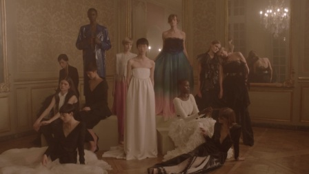 """Givenchy's Spring 2018 Couture """"Mysteries of a Night Garden"""" Film"""