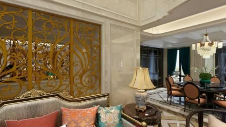印象剑桥独栋别墅法式风格作品--赵其设计
