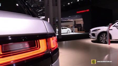 纽约车展实拍2018 Range Rover Velar R Dynamic