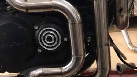 龙嘉V咖250排气改装