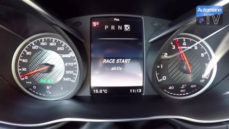 2018 AMG GT -612马力- - 0-300 km-h加速RACE START