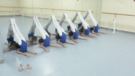 2018少儿舞蹈基本功训练教材全套舞蹈教学视频之技巧演示分解3(上墙)