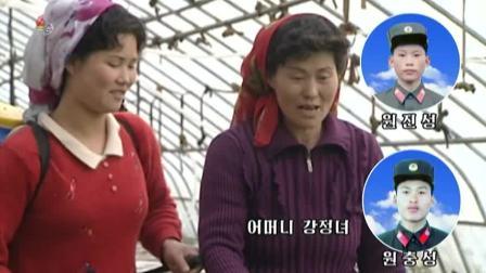 고향을 가꿔가는 후방가족들 -2중3대혁명붉은기 봉흥대흥광산후방가족들-