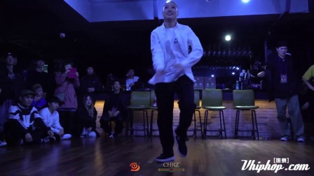 【vhiphop.com】Eun G _ Popping Judge Solo _ CHORME HEARTZ 4周年