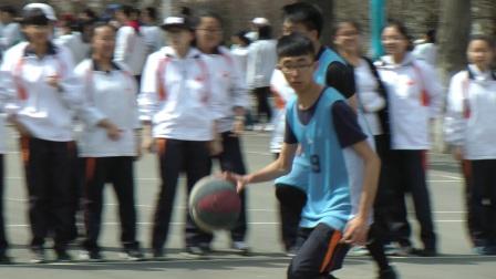 哈师大附中2018年篮球赛 高二·一班对阵高二·四班