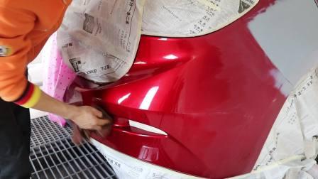 汽车喷漆培训学校,三工序红喷涂视频教学