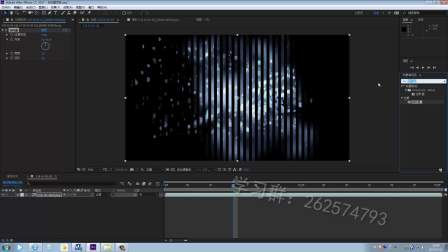 【AE教程】 影视后期制作教程——放射光背景制作