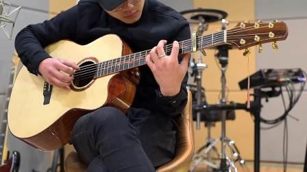 【生命之音吉他指弹】让人瞬间恋上与沉醉吉他大神编曲,那淡淡的忧伤,却表达深深的情....生命之音高端系列SE-700裸装试听
