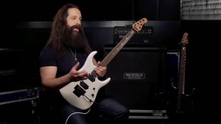 John Petrucci Demos His Sterling by Music Man JP160