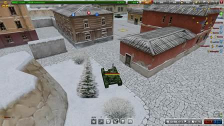 【Tanki Online】3D坦克轰天炮与黄蜂的邂逅~~