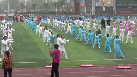 500人传统杨氏太极拳表演