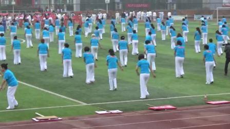 500人广场舞表演
