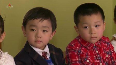 위대한 령도자 김정일대원수님의 어린시절이야기 -열병행진놀이-