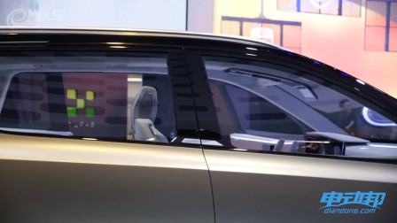 爱驰汽车车展一手全解析 这货全身都是黑科技