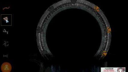 工作8年的程序员有多强?几十行代码打造动画星际之门