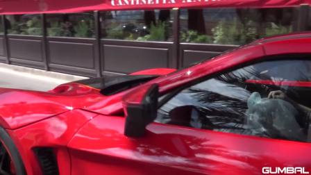 1,200 HP Zenvo TSR-S on the Road in Monaco!