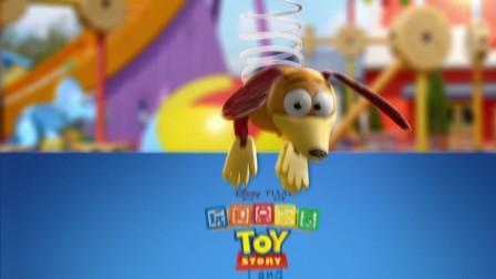 """""""迪士尼•皮克斯玩具总动员""""主题园区全新开幕-弹簧狗"""