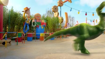 """""""迪士尼•皮克斯玩具总动员""""主题园区全新开幕-Rex&Ham"""