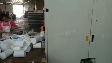 全自动卫生纸加工设备:复卷机+侧切大回旋