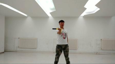 北京棍舞宋迪龙双节棍基础教学 反八转棍