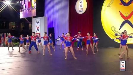 2018年世界啦啦操锦标赛公开组_武体pom——决赛