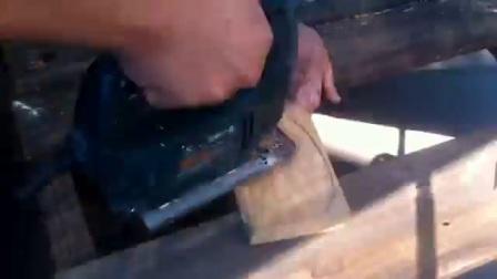 制作一个传统弓弓主体