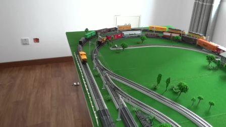 本段持有的美国两大铁路公司所属机车及车辆运转会(2018)
