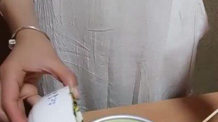 第一次学做慕斯蛋糕, 成功了好开心!