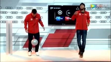 梅西和内马尔比赛颠球, 一招看出梅西比内马尔高的不止一个档次