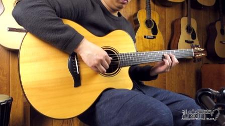 JEFF TRAUGOOT Model R 手工吉他评测试听 沁音原声