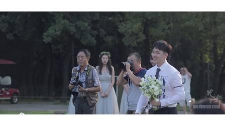 【爱与梦想】主持人刘迪2018户外草坪婚礼全程案例