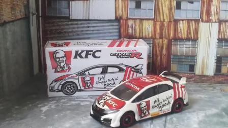 原厂1:64合金车模KFC肯德基