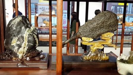 中国观赏石之乡,玉山《三清山石》走进上饶市第二届文博会。