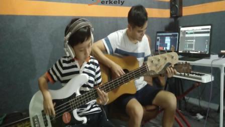 博克利音乐作品吉他练习曲《一支铅笔》BY陆甚旖——广西南宁音乐教育、培训