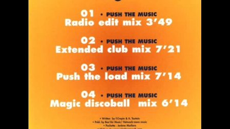 DJ Fred & Arnold T - Push The Music (Radio Edit Mix)