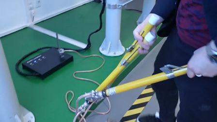 高压作业(K2)7线路挂设接地线—实操题
