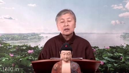 刘素云老师讲 无量寿经 关于阿弥陀佛的极乐世界与地狱旅游,片段,w002