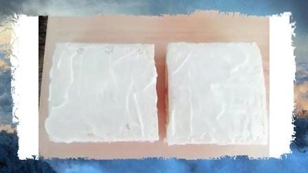 养生菜谱——芝士火腿三明治