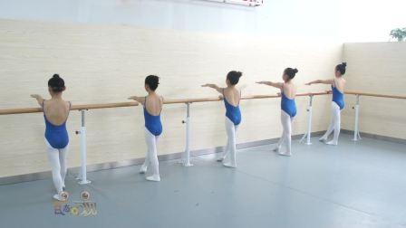 2018少儿舞蹈基本功训练教材全套舞蹈教学视频之中级10把上踢后腿