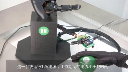 采用电机驱动器方案套件演示控制机器人手