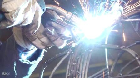 金属焊接雕塑头像