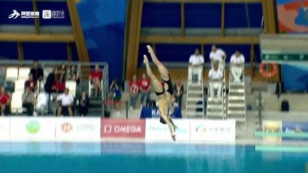 东道主俄罗斯夺冠-FINA跳水系列赛喀山站混双十米台集锦