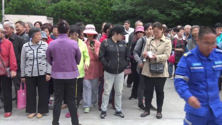 2018长宁区北新泾街道社区居民民防技能演练