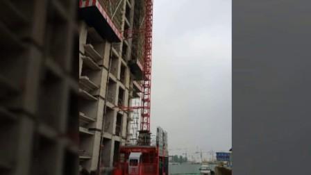 发来施工升降机与多家建筑工地合作案例图片