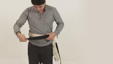 Mountain Buggy juno婴儿背袋前背模式操作视频3